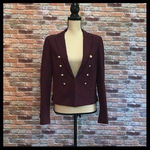 WHBM Ponte Blazer Jacket